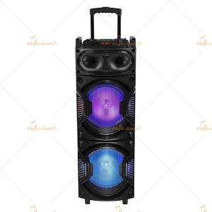 China Rechargeable Live PA Speakers / 8 Inch Powered Pa Speakers with Trolley on sale