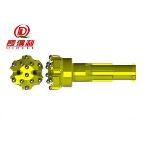 HD25 / Br2 Series DTH Hammer Bit Mid Air Pressure For Blashing Hole Drilling