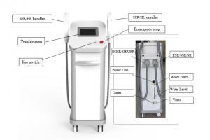 China 3000w IPL SHR E-light 3 system in 1 machine hair removal machine / IPL hair removal 16*50mm big spot size on sale
