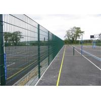 Horizontal Double Beam Twin Wire Mesh Fencing With Electro Galvanized