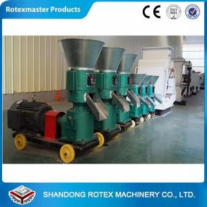 China High Efficiency Small Pellet Mill for farm use with wheat , soybean , corn Raw material on sale