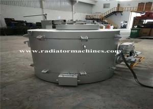China High Quality Oil Fired Melting Furnace For Gold 100kg Graphite Crucible on sale