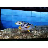 55 Inch LCD Video Wall Aquarium Exhibition Brief Introduction Showing