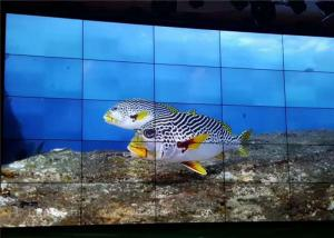 China 55 Inch LCD Video Wall Aquarium Exhibition Brief Introduction Showing supplier