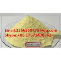 Healthy Yellow Trenbolone Powder Trenbolone Acetate / Tren Acetate For Safe Bodybuilding CAS 10161-34-9