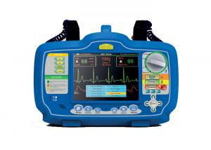 China 7 Inches Screen First Aid Equipment Biphasic Automatic Portable AED Defibrillator Monitor on sale