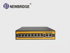 China 100M 8 Port PoE Ethernet Switch Network For IP Wireless AP/CCTV Camera System on sale