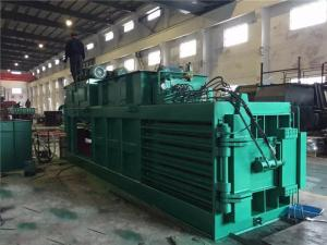Quality Turnover Box And Plastic Baling Machine Waste Paper Baling Machine Hydraulic for sale