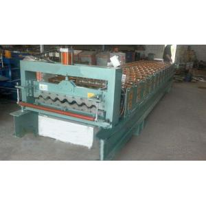 China Industrial Steel Roof Tile Roll Forming MachineWith Automatic SAJ Inverter on sale