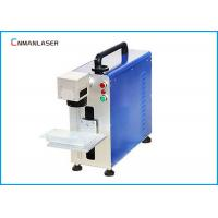 Portable Metal Camera Auto Parts Metal Laser Marking Machine With Broad Beam Galvo Scanner