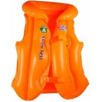 China Customized Inflatable Swimming Rings ,Pvc Kids Learning Swimming Vest on sale