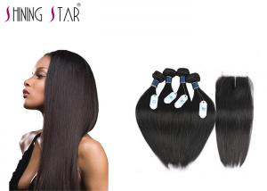 China 100 Brazilian Unprocessed Remy Hair Extensions No Animal And Synthetic Mixed on sale