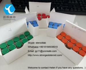 China White Lyophilized Peptide Hormones Argireline Acetate 10mg for Anti-Wrinkle CAS 616204-22-9 on sale