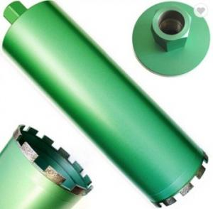 China 80mm 100mm  Diamond Core Drill Bits For Drilling Reinforced Concrete Or Stone on sale
