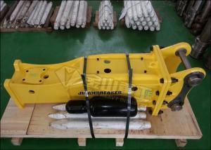 Silence Type Excavator Rock Hammer 260kg Fit Kobelco SK55