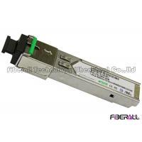 Industrial Grade SC Type SFP Single Fiber Optic Transceiver 1.25G 20KM CE FCC