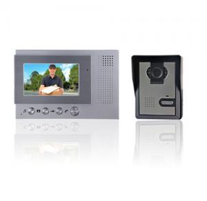 China Wired 4.3 inch Color Hands-Free Digital Video Door Phone on sale