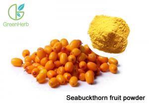China Promoting Wound Healing sea buckthorn Fruit Juice Powder Hippophae Rhamnoides Extract Powder on sale