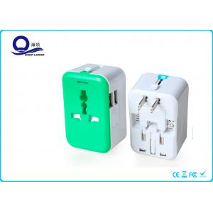 China Auto Protection Universal USB Mains Charger Adapter With 5V 2.4A Dual USB Port on sale