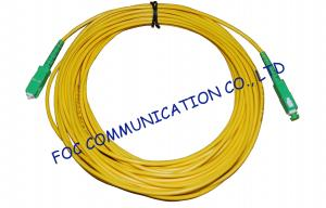 China High Stability Fiber Optic Cable Assembly , CATV System SM Simplex SC SC Patch Cord on sale