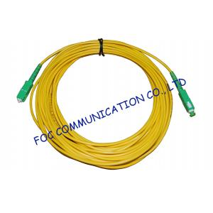 China High Stability Fiber Optic Cable Assembly , CATV System SM Simplex SC SC Patch Cord​ on sale