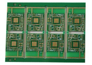 China Half Hole Single Sided PCB Board Fabrication High Precision Rogers 4350B on sale