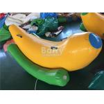 Interesting 2 Seats Inflatable Banana Boat / Inflatable Water Seesaw