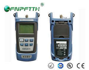 China Portable Fiber Optic Tester  SC / LC / FC / ST Connector Fiber Optic Power Meter on sale