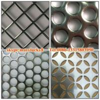 China 2015 canton fair round hole perforated metal sheet on sale