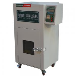 China Lithium Battery Testing Machine with 2 - 8MM Corrosion Resistant Stainless Steel Needles on sale