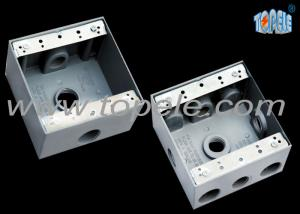 Weatherproof Electrical Boxes Two Gang Outlet nch Circuit ... on