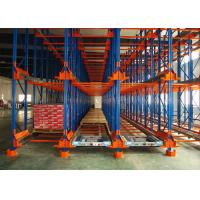 China Steel Shuttle Pallet Racking For Warehouse Storage , Selective Pallet Racking on sale