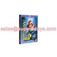 Movie Disney Blue Ray DVD The Little Mermaid Diamond Edition Classic Disney Cartoon Movies Blu-ray DVD Wholesale
