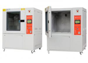 China LED Light Sand And Dust Test Chamber , Climatic Test Chamber TEMP880 Controller on sale