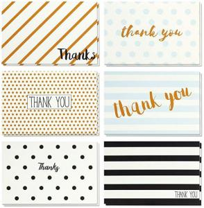 China Retro Design Holiday Greeting Cards , Blank Inside Christmas Thank You Cards on sale