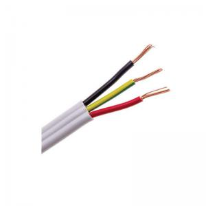 China AS/NZS5000.2 450/750V copper wire PVC insulated PVC sheathed Flat TPS and Earth BVVB electrical cable on sale