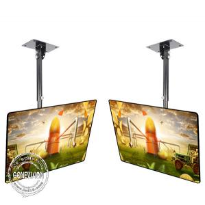 China Roof Hang Wall Mount LCD Display 500cd/m2 Brightness Android / PC OS For Restaurant on sale
