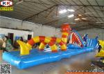 China Children Inflatable Water Game PVC Water Obstacle Course Custom wholesale