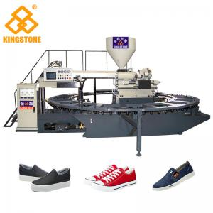 China 20 Stations Servo System Adopted PVC shoes making machine for sport shoes lasure shoes on sale