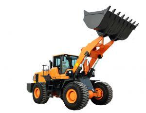 China Back Loader Truck Backhoe Wheel Loader Customised Color For Building supplier