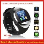 China MP3 / MP4 Smart Bluetooth Watch Mobile Phone with Caller ID Display and 128x128px wholesale