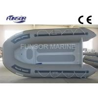 Aluminum RIB Boat Foldable Inflatable Boat Without Deck light weight