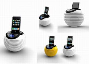 China fashionable Portable speaker for Iphone /Ipad /Ipod with FM Radio and Led Display model 3013 on sale