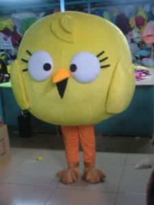 Quality custom made adult plush disney big-head chicken mascot costumes  for sale
