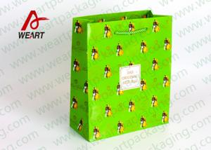 China Small Xmas Holiday Paper Gift Bags , Unique Personalized Halloween Paper Bags on sale