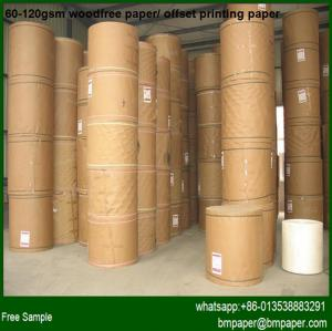 China Offset Paper / wood-free printed paper on sale