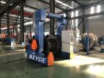 Removable Blue Color 1250-3150 mm Gantry  Walking Type Pay-off And Take-up Machine