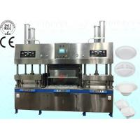 China Small Semi Auto Paper Plates Machine , 700pcs / h Paper Cup Production Line on sale