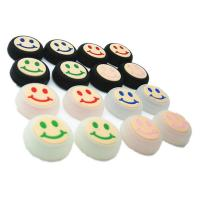 Honbay Smile face pattern pack Thumbstick Thumb Grip Cap Stick Joystick sets Cover Case Silicon Cap for PS4 Xbox one PS3