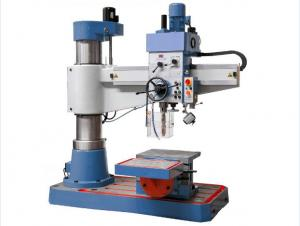 China 40mm Rapid Radial Drill Press Flexible Handing Rigidity With Linear Guides on sale